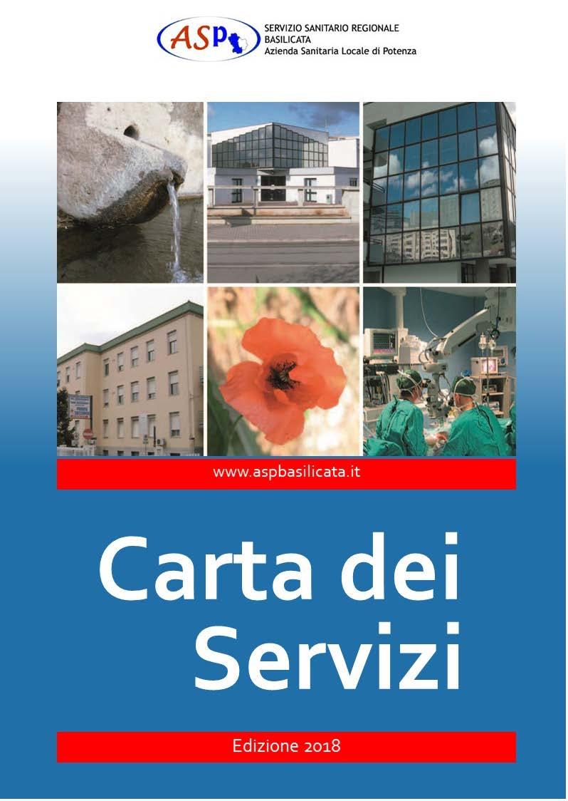 Carta dei servizi asp azienda sanitaria locale di potenza for Carta regionale dei servizi fvg